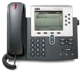 Cisco Unified IP Phone 7961G front