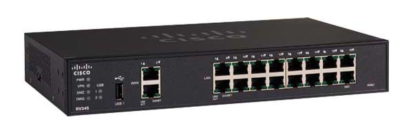 Cisco RV345 Dual WAN Gigabit VPN Router